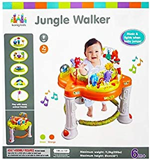 Baby Jungle Walker for Baby,Music lights when baby jumps