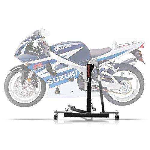 ConStands Power Evo-Zentralständer Kompatibel für Suzuki GSX-R 750 00-03 Grau Motorrad Aufbockständer Montageständer Heber