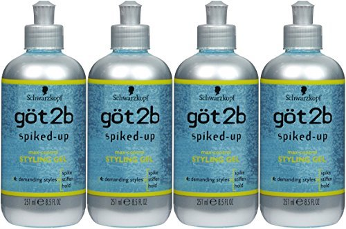 Got 2B Gel Spiked-Up 8.5 Free shipping on posting reviews oz. of by Genuine 4 Pack GOT
