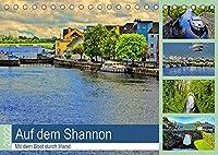 Auf dem Shannon - Mit dem Boot durch Irland (Tischkalender 2022 DIN A5 quer): Bootsurlaub auf der Gruenen Insel (Monatskalender, 14 Seiten )