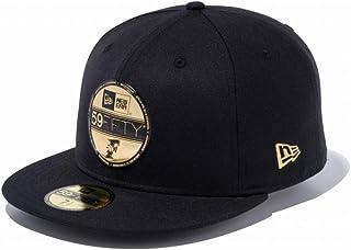 ニューエラ(NEW ERA) キャップ 59FIFTY NPB バイザーステッカー 北海道日本ハムファイターズ ブラック × ゴールド 11901313 帽子