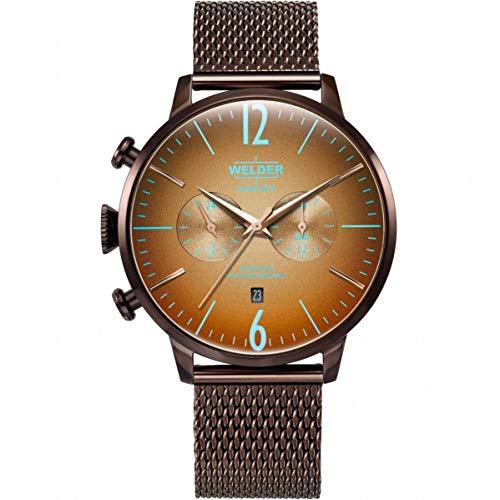 Welder Breezy Reloj de Hombre Cuarzo 47mm Correa y Caja de Acero WWRC1005