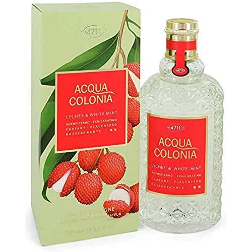 ACQUA COLONIA 4011700747740 Lychee & White Mint femme/woman Eau de Cologne, 170 ml