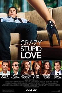 CRAZY STUPID LOVE MOVIE POSTER 2 Sided ORIGINAL 27x40 STEVE CARELL