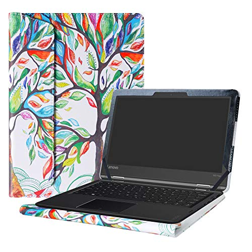 Alapmk Protective Case Cover for 11.6' Lenovo Flex 11 CHROMEBOOK/Lenovo N23 Yoga Chromebook/Lenovo ThinkPad 11e Yoga 6th Gen Laptop(Note:Not fit Lenovo N23 Chromebook/N23 Windows Laptop),Love Tree