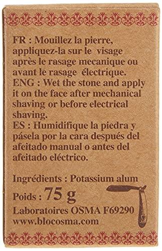 OSMA LABORATOIRES Barburys by sibel alaun block kaliumalaunstein rockalaun 75 g