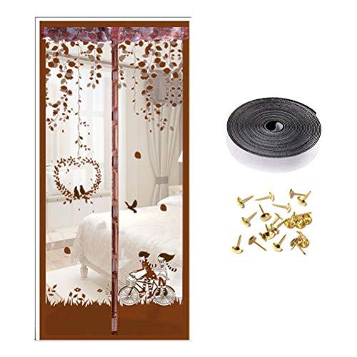 Nargut Magnetische Insektenschutztür Atmungsaktiv Tür Netzvorhang Fliegengitter Tür Wie abgebildet 1