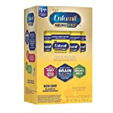 Enfamil NeuroPro Baby Formula Milk Powder, 14 Single Serve Packets (17.6 Gram Each) - MFGM, Omega 3 DHA, Dual Prebiotics, Iron & Immune Support