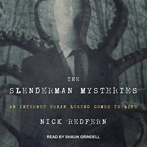 The Slenderman Mysteries audiobook cover art
