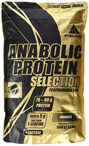 PEAK Anabolic Protein Selection 1000g | Premium Protein| Arotop Qualitätssiegel (Chocolate)