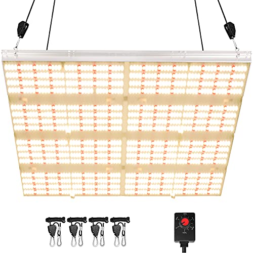 Lansi Led Grow Lights 5x5ft Coverage Samsung Diodes Full Spectrum Plant Growing Light Dimmable for Seed Starting Indoor Plants Growing Lamps with 1248 LEDs