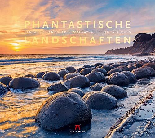 Phantastische Landschaften Kalender 2021, Wandkalender im Querformat (54x48 cm) - Landschaftskalender / Naturkalender