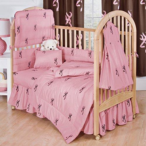Browning Bedding Pink Buckmark Crib Diaper Stacker