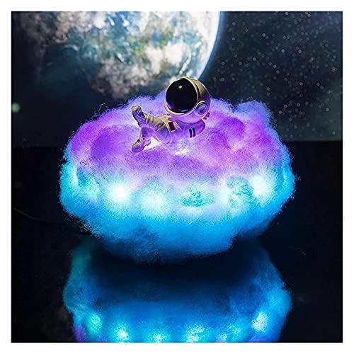 xinyawl Luz de Noche, lámpara de Astronauta Coloridas led con Efecto Arco Iris, Luces Creativas de ensueño, Regalos de decoración de niños (Color : 1)