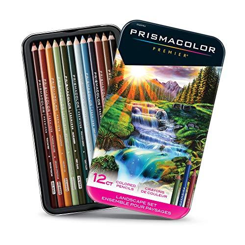 Prismacolor Landschafts-Set, 12 Stück, Einheitsgröße