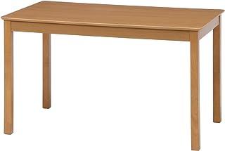 不二貿易 ダイニングテーブル 4人用 幅120cm ナチュラル 天然木 簡単組立て モルト 98814