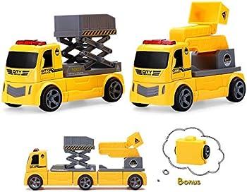 Pickwoo DIY Assembled Magnetic Construction Car Sets