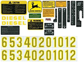 All States Ag Parts Decal Set Compatible with John Deere 4520 2510 3010 5020 4620 6030 4010 4000 5010 4020 2520 3020 4320 AR34177