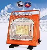 Calentadores De Gas Portátil Pequeño, Calentador Al Aire Libre Estufa De Cocinar Para Camping Tienda Licaciado Calentador De Gas Lugar De Fuego Calentadores Energía Eficiente Para La Pesca De Campo