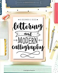 Learn to letter and create beautiful designs with this beginner's guide and workbook! Every page is filled with tips, tricks encouragement and practice space to kickstart your lettering journey! Learn 5 different alphabet styles, upper and lower case...