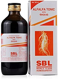 Alfalfa Tonic by SBL Homoeopathy - 180ml