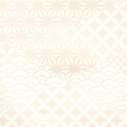 シンコール  壁紙36m  和調  ホワイト  BB-8530