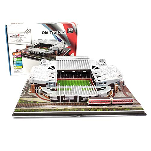 MARZIUS 3D Jigsaw Puzzle Old Trafford Stadium DIY Model Set (Manchester United)