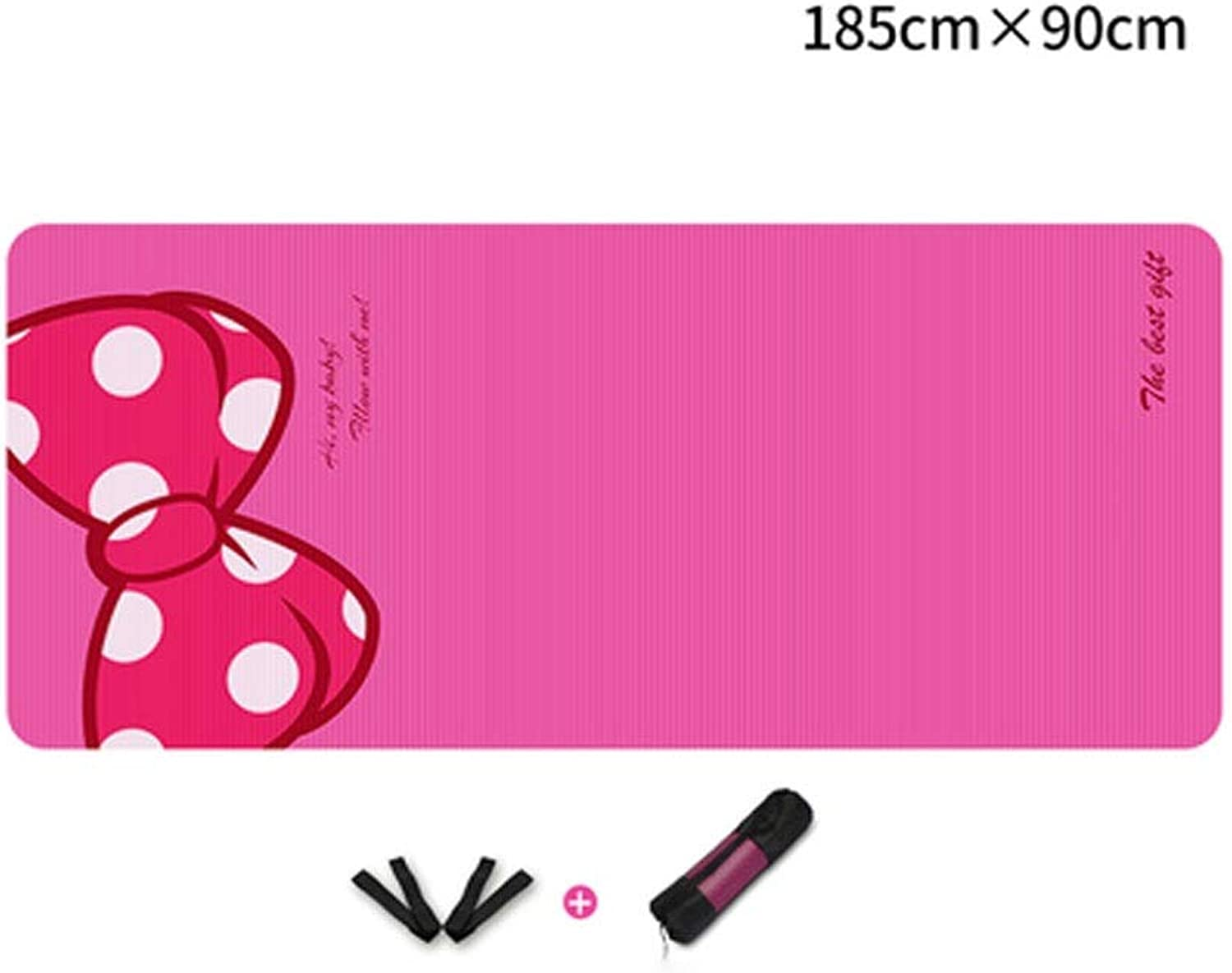 Fengshangshanghang Yoga Mat, Yoga Mat with Light Weight Features, Extra Thick Yoga Mat, Yoga Mat for Beginners, Gift (74  36 Inches, Thickness 1015mm) Thicken