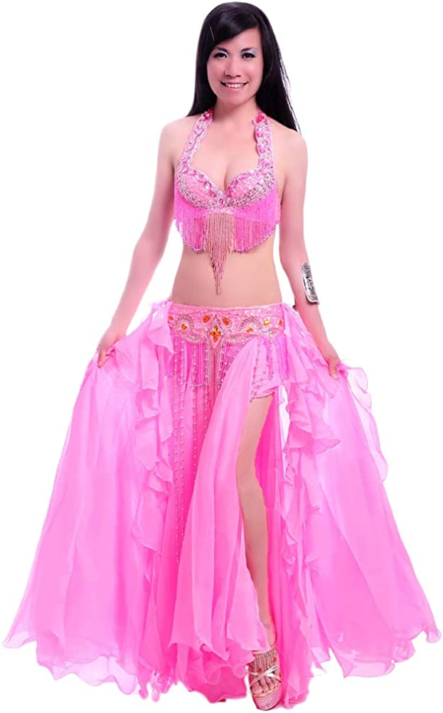 ROYAL Atlanta Mall SMEELA Belly Dance Costume Courier shipping free shipping a for Set Women Bra