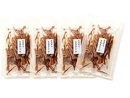 旨塩あたりめ70g×4袋(するめ 烏賊の珍味 寿留女)縁起物のちんみ 特選珍味(塩と昆布エキス)乾燥珍味(低カロリー 低脂肪)