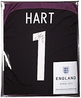 joe hart signed shirt