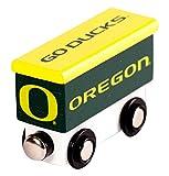 College Team Trains NCAA Oregon Ducks Kids Toy Box Car, Small