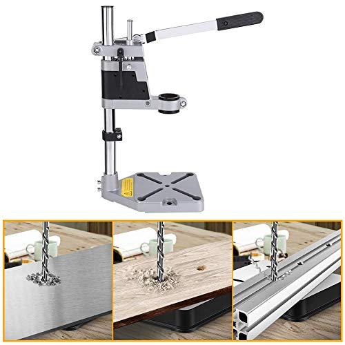 Bohrmaschinenständer Einstellbare Halter Bohrer Tischklemme Bohrständer für Bohrmaschine Halterung von 43/38 mm für Heimwerker oder Beruf Max Bohrtiefe 60mm