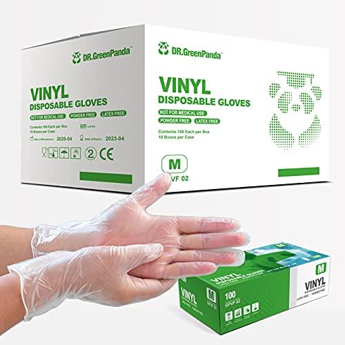 Dr.GreenPanda Vinyl Gloves (Medium) Case of 1000