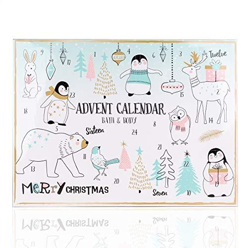 Accentra Adventskalender Happy Holidays Für Mädchen Mit 24 Bade-, Körperpflege Und Accessoires Produkten Für Eine Abwechslungsreiche Und Verwöhnende Adventszeit