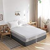 haiba Wasserbett Spannbetttuch Spannbettlaken Bettlaken - 120 x 200 cm