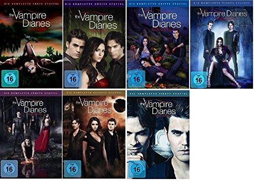The Vampire Diaries - Season / Staffel 1+2+3+4+5+6+7 ( 1-7 ) * DVD Set / Alle 7 Staffeln