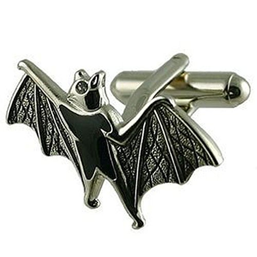 Collegamenti del bracciale Bat gemelli~Batman~animale inciso box personalizzato