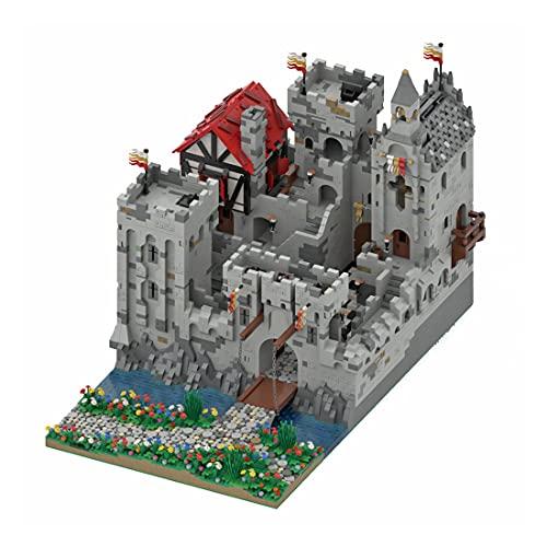 Morton3654Mam The Highstone Fortress MOC-45559 - Set di mattoncini modulari, 12323 pezzi, serratura medievale da costruzione, per architettura, compatibile con Lego