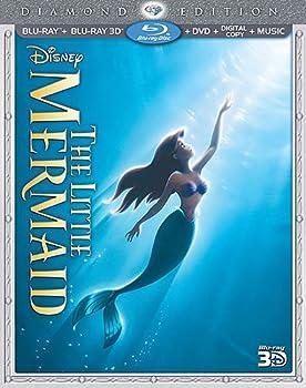 The Little Mermaid  Three-Disc Diamond Edition   Blu-ray 3D / Blu-ray / DVD + Digital Copy + Music