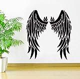 Alas De Ángel Pegatina De Vinilo Ideas Inspiradoras Arte De La Pared Interior Del Dormitorio Murales 42X46Cm