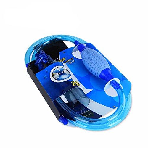 しんちんちんアクアリウム中の砂を清潔する換水器 金魚鉢やペット缸の水を吸入し 細い砂の屑が濾過できます 水槽清掃パンプ 真空水交換器 清掃機