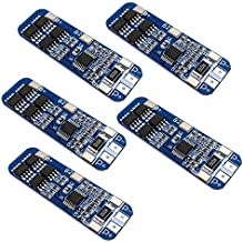 5pcs 3S BMS Module 12V 10A 18650 BMS Charger Module Li-ion Lithium Battery Protection Board