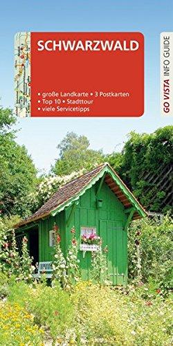 GO VISTA: Reiseführer Schwarzwald: Mit Faltkarte und 3 Postkarten