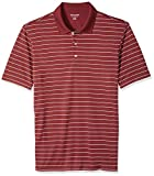 Amazon Essentials Men's Regular-Fit Quick-Dry Golf Polo Shirt, port Stripe, X-Large