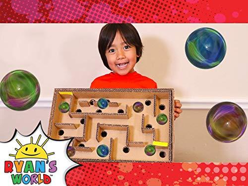 Ryan's DIY Cardboard Maze!