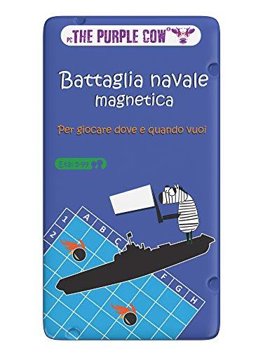 Purple Cow - Batalla Naval magnética Juego, 7290018133033