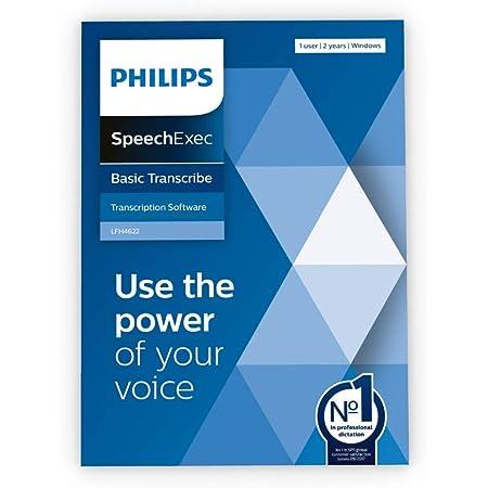 Philips Software Speechexec 11 Basic Transcription Box Abonnement Für 2 Jahre Bürobedarf Schreibwaren