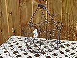 Estilo tradicional vintage metal cesta de alambre para huevos