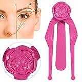 1PC Permanent Makeup Symmetrical Measuring Guide Eyebrow Measuring Tool